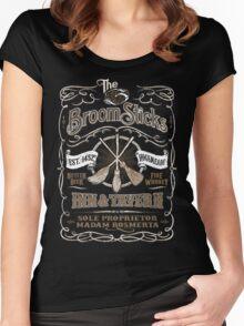 The Three Broomsticks Inn & Tavern Women's Fitted Scoop T-Shirt