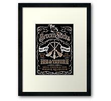 The Three Broomsticks Inn & Tavern Framed Print