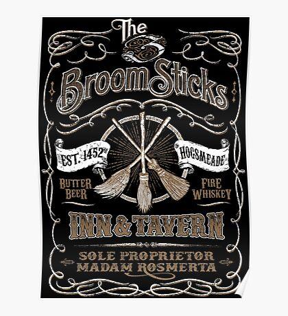 The Three Broomsticks Inn & Tavern Poster