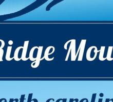 Blue Ridge Mountains Die-Cut Sticker Sticker