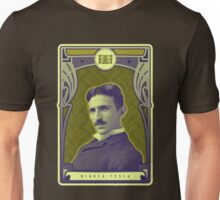 Nikola Tesla's Electric Mind Unisex T-Shirt