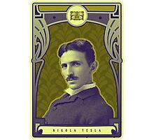 Nikola Tesla's Electric Mind Photographic Print