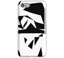 """Cutting Edge"" Abstract Knee Replacement Design by Jenny Meehan  iPhone Case/Skin"