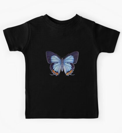 Imperial Blue Butterfly Kids Tee