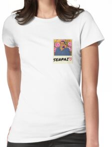 Senpai called me! Womens Fitted T-Shirt