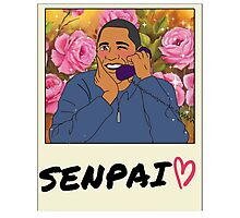 Senpai called me! Photographic Print