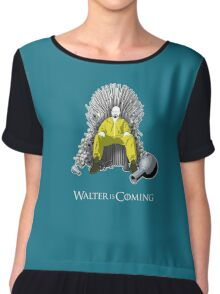 Breaking Bad - Walter is Coming Chiffon Top