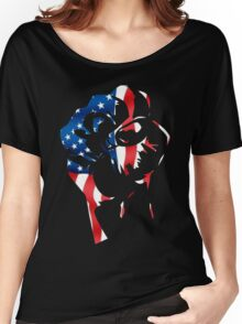 RESIST OPPRESSION #1 Women's Relaxed Fit T-Shirt