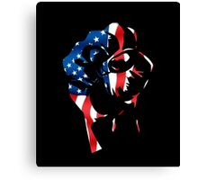 RESIST OPPRESSION #1 Canvas Print