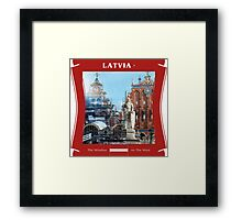 Latvia - The Window On The West Framed Print