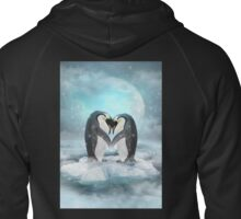Listen Hard To Your Soul Zipped Hoodie
