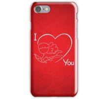 Cupid - I Love You - Valentine 2017 iPhone Case/Skin