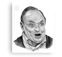 James Bolam plays Grandpa in my pocket Canvas Print