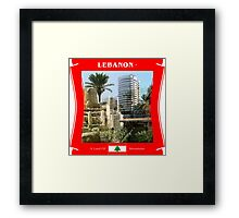 Lebanon - A Land Of Mountains Framed Print