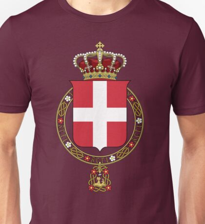 Coat of Arms of the Duchy of Savoy Unisex T-Shirt