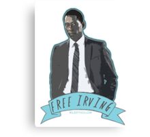 FREE IRVING Canvas Print