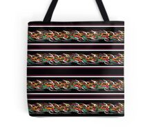 Barbwire abstract pattern Tote Bag