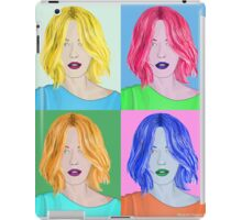 Pop Art Beautiful Woman - Warhol Style iPad Case/Skin