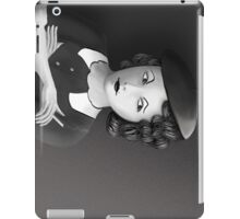 Film Noir Female Character Smoking Cigarette Looking Aside  iPad Case/Skin