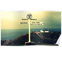 New York 3417 miles Poster