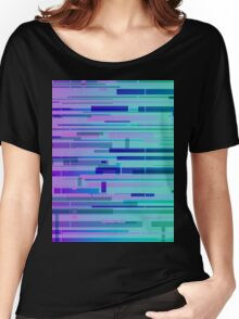 Gradient Glitch #57 Women's Relaxed Fit T-Shirt