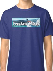 Trump Surfing - Freedom Waves Classic T-Shirt