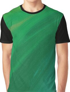 Green Pastel Graphic T-Shirt