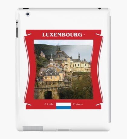 Luxembourg - A Little Fortress iPad Case/Skin