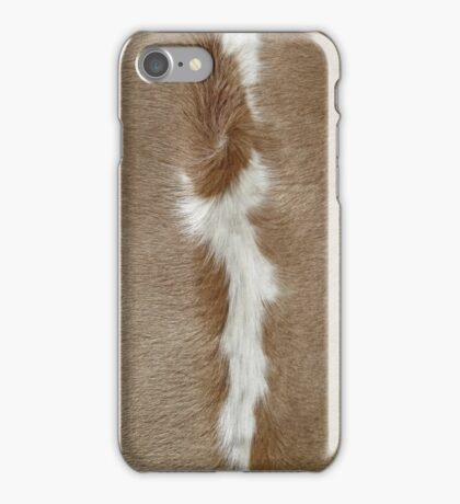 A Patch of Cowhide. iPhone Case/Skin