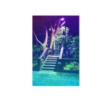 Pastel Brisbane City - Southbank Walkway Stairs Gallery Board