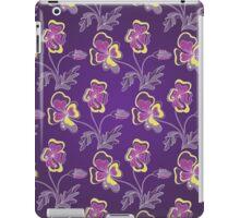 Violet background iPad Case/Skin