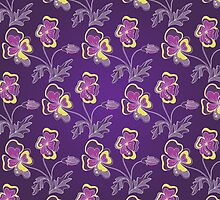 Violet background by IraMukti