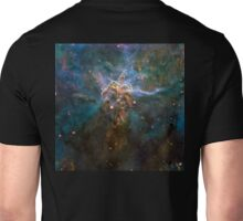 Mystic, Mountain, Hubble, NASA, Stars, Cosmos, Cosmic, Space, Telescope, Astronomy Unisex T-Shirt