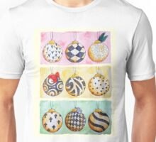 Christmas Baubles Unisex T-Shirt