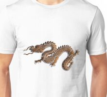 Chinese Zodiac Gingerbread Dragon Unisex T-Shirt