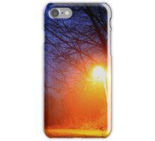 Foggy Path iPhone Case/Skin