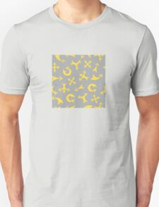 Yellow arrows Unisex T-Shirt