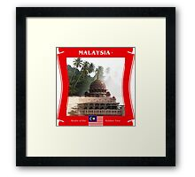 Malaysia - Realm Of The Rubber Tree Framed Print