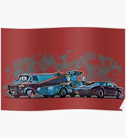 Nostalgia Carpark Poster