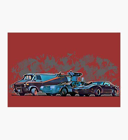 Nostalgia Carpark Photographic Print