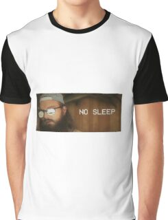 No Sleep 2 Graphic T-Shirt