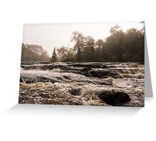 Whiskey River  Greeting Card