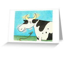 The Es-Cow-Pades of Miss Moogooley Oogooley! Greeting Card