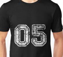 Sport Team Jersey 05 T Shirt Football Soccer Baseball Hockey Double Basketball Five 5 Unisex T-Shirt