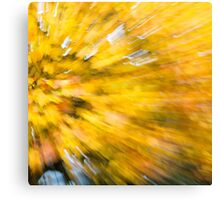 Abstract Leaves 6 Canvas Print