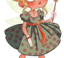 La petite fée blonde by princessebarbar