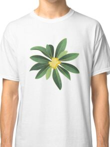 Loquat medlar tree in Autumn I Classic T-Shirt