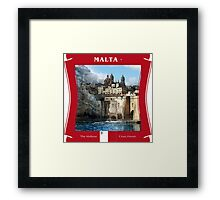 Malta - The Maltese Cross Haven Framed Print