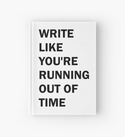 Hamilton Write Like You're Running Out of Time Hardcover Journal