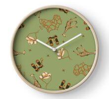 Green Safari Clock